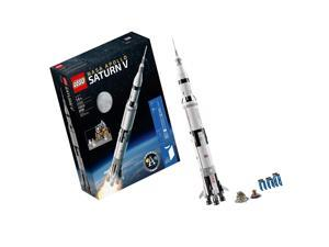 LEGO Ideas NASA Apollo Saturn V 21309 Building Kit Frustration-Free Packaging