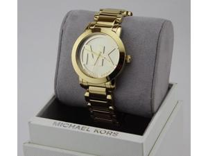 5f5a78f7c4de NEW AUTHENTIC MICHAEL KORS RUNWAY GOLD CHAMPAGNE WOMENS MK3206 WATCH