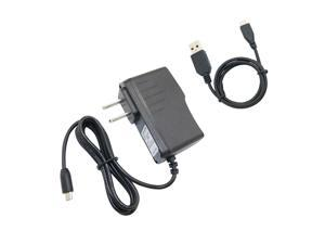 AC/DC Adapter Wall Charger Power Supply + USB Cord For Vizio Tablet VTAB1008/b