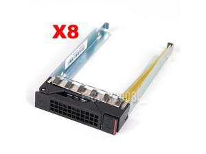 """Lot of 8, 2.5"""" SATA HDD Drive Caddy Tray For Lenovo ThinkServer RD350 US Seller"""