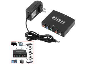 HDMI to 5RCA RGB Component YPbPr Video +R/L Audio Adapter Converter With Chager