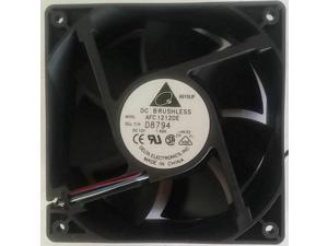 Delta AFC1212DE (Dell P/N D8794/Y4574) 120X38mm Extreme HI Speed Fan, PWM 4PIN