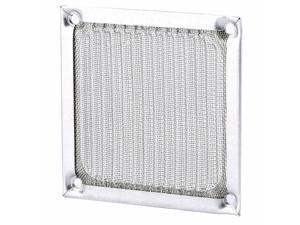 Coolmax 80mm (8cm) Aluminum Fan Filter (Silver) computer dust filter