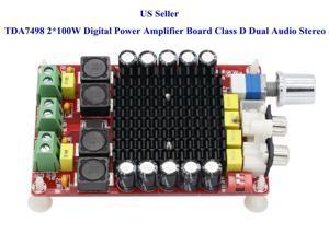 LM3886 Stereo Power Amplifier Board OP07 DC Servo 5534 Amplify PCB Kit -  Newegg com