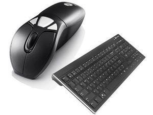 Gyration U77796B Wireless Air Mouse GO Plus W/ Full Sized Wireless Keyboard