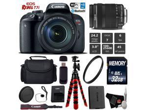 Canon EOS Rebel T6 DSLR Camera with 18 - 55 mm and 75 - 300 mm Lenses Kit -  Newegg com