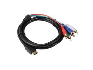 Back To Search Resultshome Devoted 1m Hdmi Male To 3 Rca Av Audio Video Component Convert Cable Spare No Cost At Any Cost