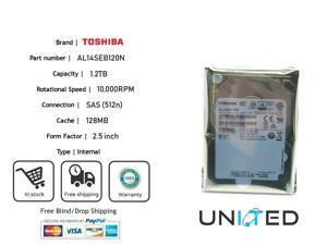 "512n TOSHIBA MG04SCA20EN Enterprise 2TB 7.2K 128MB SAS-3 12Gb//s 3.5/"" HDDNEW"