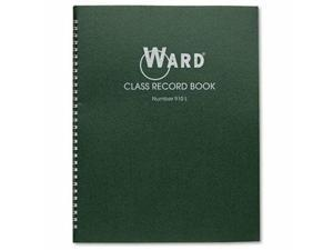 "Ward 910l Class Record Book - Wire Bound - 11"" X 8.50"" Sheet Size - White Sheet"