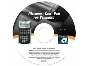 Calculated Industries 4084 Machinist CalcPro CD Version