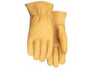 Midwest Gloves and Gear 7750THG-L-AZ-6 Men/'s Suede Cowhide Leather Palm Work ...