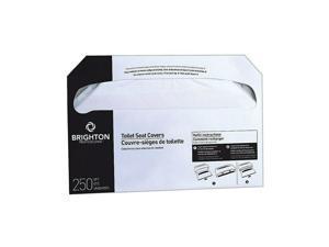 Brighton Toilet Seat Covers 250 Cover/Pack 10 Packs/Carton (BPR24776) CW24776