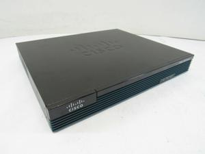 Cisco CISCO1921/K9 1921 GbE 512MB DRAM 256MB Flash Integrated Service Router