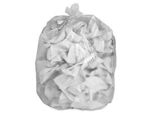 """Special Buy Trash Bag Liners 24""""x24"""" 6 mic High Density 1000/CT Clear HD242408"""