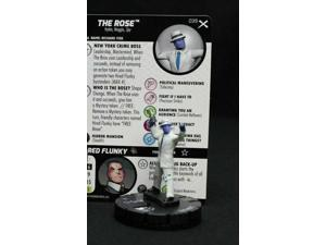 #	039		The Rose	 - RARE - 	Marvel Heroclix EARTH X