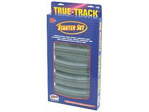 Atlas HO Scale True-Track w/ Roadbed Starter Set 18-Pack Model Train Track