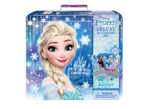 Disney Frozen Deluxe Stationery Set Tattoos Great Fun Elsa Ana Olof Kristoff