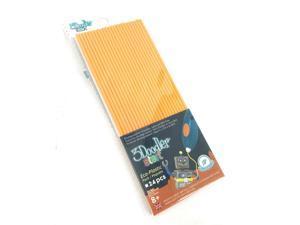 New! 3Doodler Start Eco-Plastic Pack 24pcs Ages 8+ Color Orange Mandarine #6994