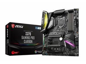 MSI Z370 Gaming PRO Carbon ATX Motherboard (LGA 1151 M.2 DVI HDMI USB 3.1 SLI)