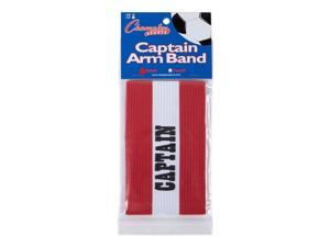 Champion Sports Soccer Captain Arm Bands - Adult Red