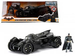 Arkham Knight Batmobile with Batman Diecast Figure 1/24 Diecast Model Car by Jada