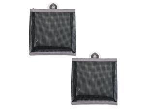 DII Bath Mesh Bag Small Gray (Set of 2)