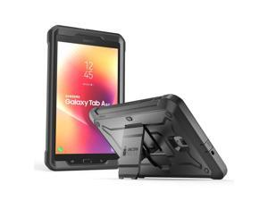 Galaxy Tab A 8.0 Case 2017, [NOT Fit 2015 Tab A 8.0 SM-T350] SUPCASE [UB PRO] Full-body Rugged Protective Case with Built-in Screen Protector for Samsung Galaxy Tab A 8.0 SM-T380/T385 (2017) (Black)