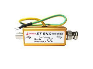BNC COAX Coaxial Cable CCTV Monitoring Security Camera Monitor Surge Protector