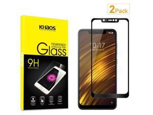 2X KS For Xiaomi Poco Phone F1 Full Cover Tempered Glass Screen Protector ...