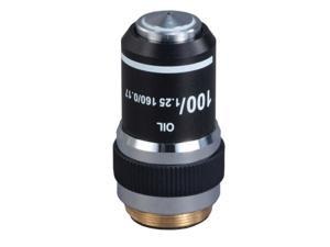 OMAX 100X (Oil, Spring) Achromatic Compound Microscope Objective Lens
