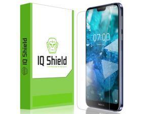 Nokia 7.1 Screen Protector, IQ Shield LiQuidSkin Full Coverage Screen Protector for Nokia 7.1 HD Clear Anti-Bubble Film
