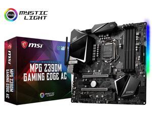 MSI MPG Z390M Gaming Edge AC LGA1151 (Intel 8th and 9th Gen) M.2 USB 3.1 Gen 2 DDR4 HDMI DP Wi-Fi SL