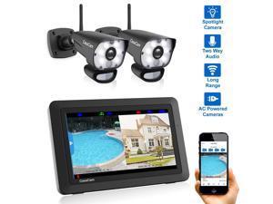 099365a293a CasaCam VS1002 Wireless Security Camera System with AC Powered HD Spotlight  Cameras ...