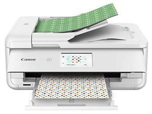 Canon PIXMA TS9521C (2988C022) Duplex 4800 DPI x 1200 DPI Wireless/USB Color Inkjet The Crafter's All-In-One Printer