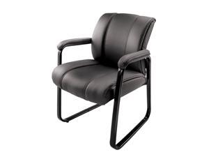 Brenton Studio® Bellanca Guest Chair, Black