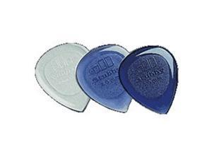 Dunlop 474P30 Stubby Jazz Picks, 3.0 MM, 6 Pack
