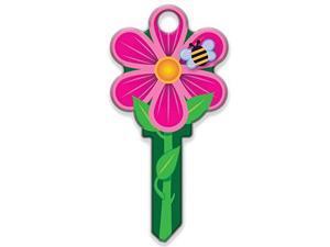 Lucky Line Key Shapes, FLOWER,  House Key Blank, KW1/11, 1 Key (B106K)