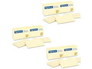 Highland Notes, 3 x 5-Inches, Yellow, 100 Count, Pack of 36