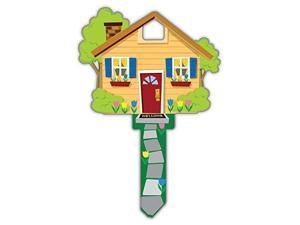 Lucky Line Key Shapes, HOME, House Key Blank, KW1/11, 1 Key (B105K)
