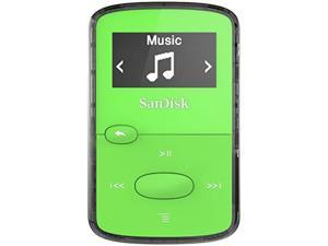 SanDisk SDMX26-008G-G46G SanDisk SDMX26-008G-G46G 8 GB Flash MP3 Player - Green - FM Tuner - Battery Built-in - microSD - AAC, MP3, WMA, WAV, Ogg Vorbis, Audible, FLAC - 18 Hour
