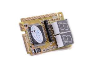 Diagnostic Post Card USB Mini PCI E PCI LPC PC Analyzer Tester