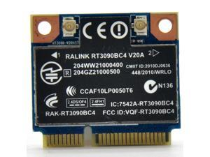 Ralink RT3090 RT3090BC4 300Mbps PCI-E WiFi Adapter Mini PCI-E Wireless Combo Card + Bluetooth V3.0 BT 3.0 for HP SPS: 602992-001