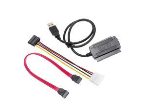 SATA/PATA/IDE Drive to USB 2.0 Adapter Converter Cable for 2.5 / 3.5 Inch Hard Drive Disk High Speed Connection Transmission