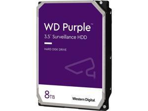 """WD WD82PURZ-20PK Purple WD82PURZ-20PK 8 TB Hard Drive - 3.5"""" Internal - SATA (SATA/600)"""