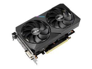 ASUS Dual GeForce GTX 1660 SUPER DirectX 12 DUAL-GTX1660S-O6G-MINI 6GB 192-Bit GDDR6 PCI Express 3.0 HDCP Ready Video Card