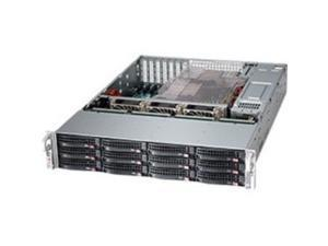 Supermicro SuperChassis 826BE1C-R920LPB - 2U Support - 12 Hot-swap SAS/SATA Bay