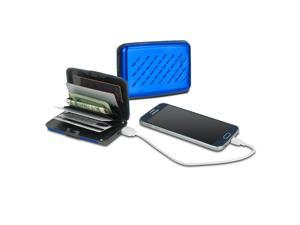 Viatek Pocket Jump Card Holder Wallet and 2300mAh Power Bank Portable Charger