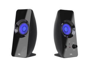 Cyber Acoustics CurveLight CA-2806BT 2.0 Speaker System - Bluetooth