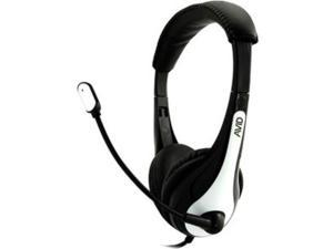 Avid Ae-36 Headset With Noise Cancelling Mic & 3.5Mm Plug White