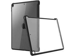 "i-Blason Case for 10.2"" iPad 7th Gen Slim Hybrid Case - Clear IPAD7-KBOARD-BK"